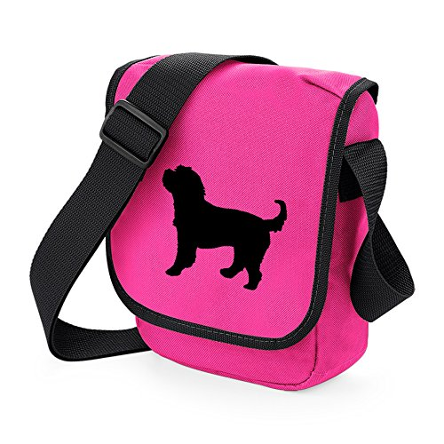 Spaniel of Colours Cocker Dog Pink Cockerpoo Gift Reporter Shoulder Dog Choice Poodle Cross Black Bag Bag Bag Cockapoo Silhouette Bag 68qAx6ZB