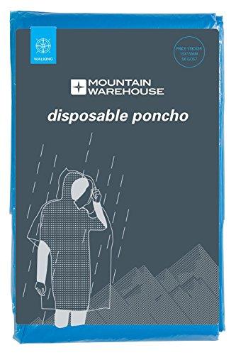 Amarillo Unisex Poncho Warehouse Talla Azul Desechable Única Mountain HxTnx