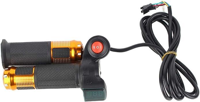VGEBY1 Apretones del Acelerador de la Bicicleta eléctrica, manija ...