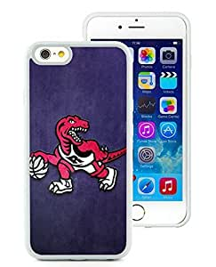 New Custom Design Cover Case For iPhone 6 4.7 Inch Toronto Raptors 1 White Phone Case by icecream design