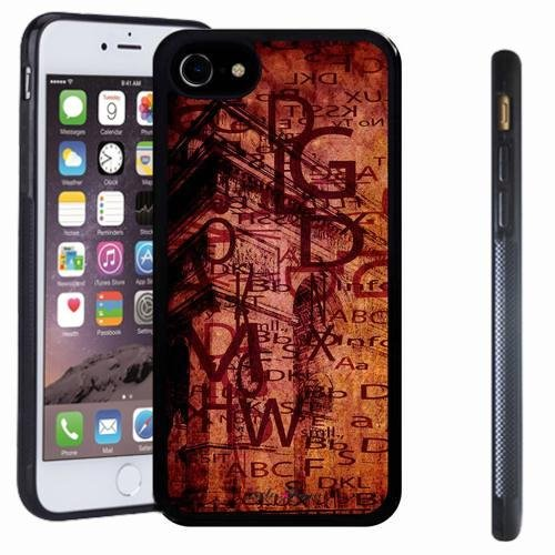 iphone 7 case, SoloShow(R) Slim Shockproof TPU Soft Case Rubber Silicone for Apple iphone 7 (Figuras De Halloween En Origami)