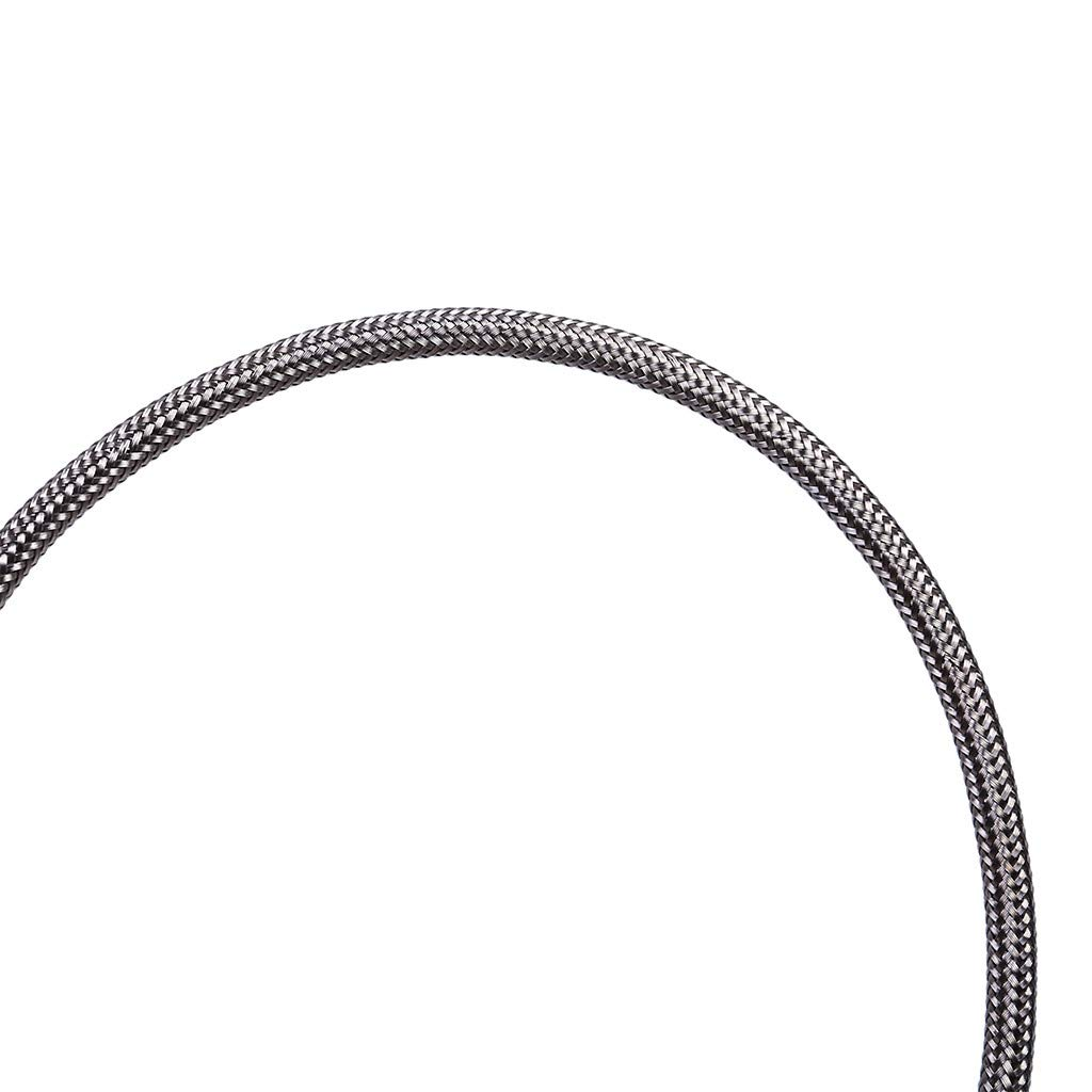 Silver Metal Th350 Cable Release Drives 350 Throttle Cable Silver Chshe Fit Braided Stainless Steel Transmission
