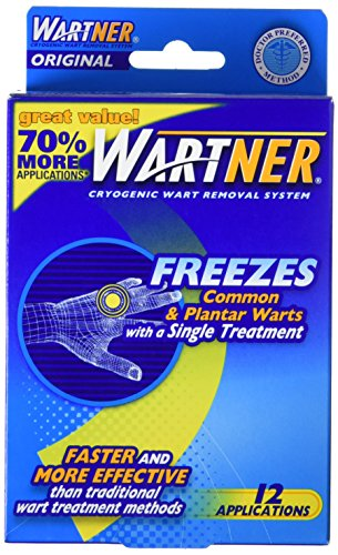 (Wartner Cryogenic Original Wart Removal System, 12 Count)