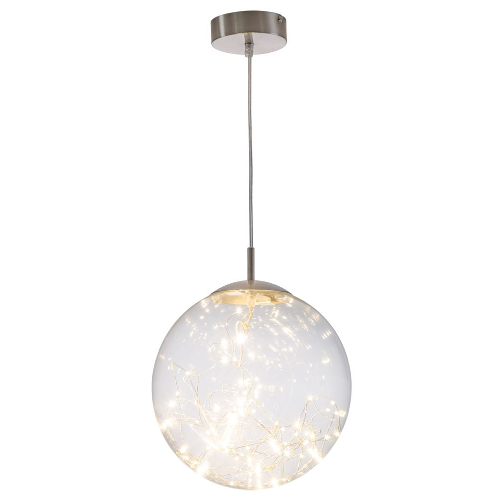 Design LED Pendel Hänge Leuchte Arbeits Zimmer Glas Kugel Decken Lampe Nino Leuchten 34152506