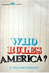 Who Rules America? Paperback