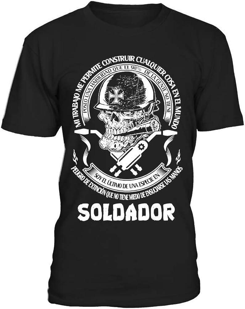 Camiseta Hombre **Soldador DT - EDICIÓN Limitada **: Amazon.es: Ropa y accesorios