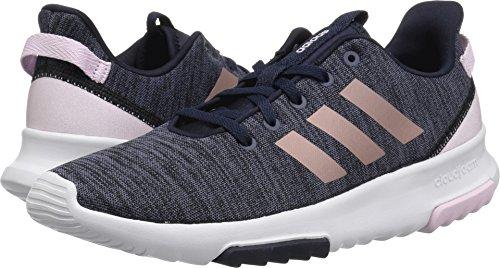 adidas Kids CF Racer TR Running Shoe, Legend Ink/Vapour Grey Metallic/Aero Pink,...