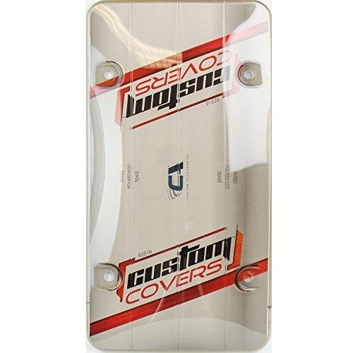 Custom Accessories 92516 Smoke License Plate Protector