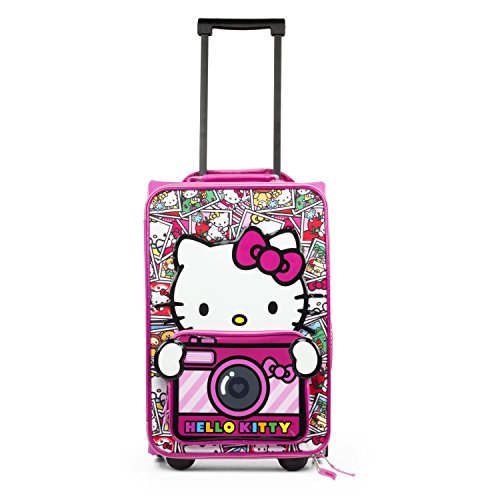 Hello Kitty Rolling Luggage (Hello Kitty 17 Carry On Luggage)