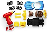 Take Apart Racing Car Toys - Build Your Own Toy Car with 30 Piece Constructions Set - Toy Car Comes with Engine Sounds & Lights & Drill with Toy Tools for Kids - Newest Version - Original - by Play22