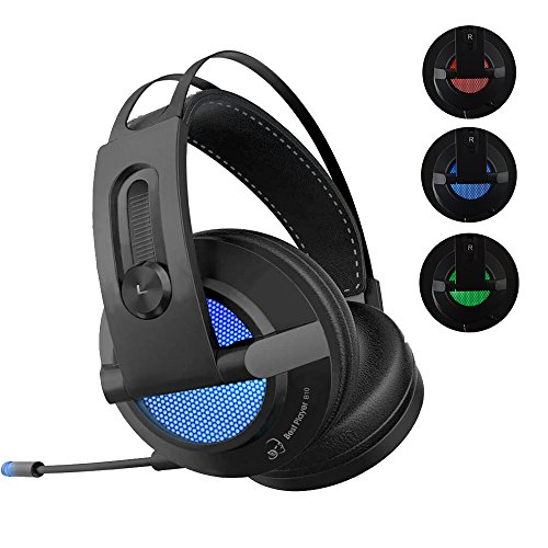 510s0CXx4iL - PRO Gaming Headset, USB 7.1 Chroma Surround Sound Stereo with Retractable Digital Microphone