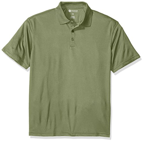 Haggar Short Sleeve Solid Textured