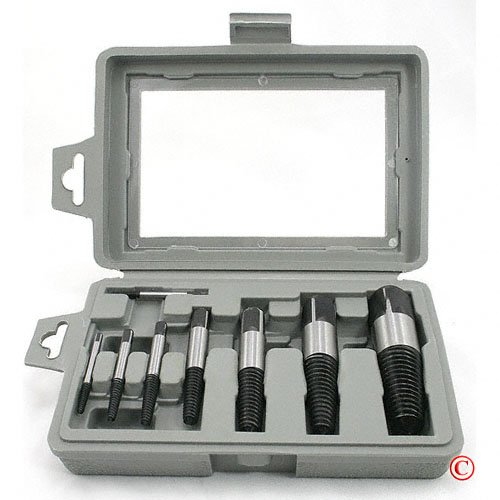 ATE Pro Tool 8 piece Easy Out Screw Bolt Extractor Set ()