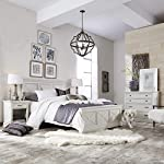 """Home Styles Seaside Lodge White Dresser with Signature """"X"""" Frame Panels, Ten Drawers, and Felt-lined Drawers"""