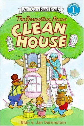 The Berenstain Bears Clean House I Can Read Level 1
