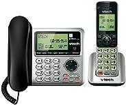 VTech CS6649 Set de teléfono con Cable e inalámbrica, Ampliable, tecnología DECT 6.0, con 1 Terminal, Color Pl