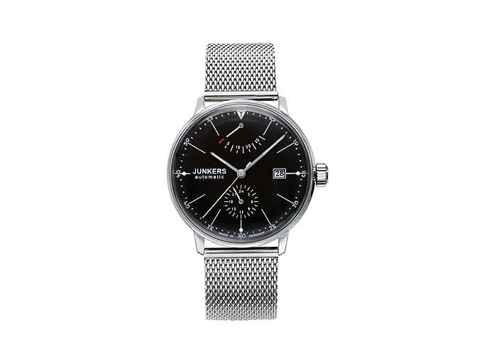 Junkers - Reloj de pulsera analógico automático para hombre acero inoxidable 6060 M2: Amazon.es: Relojes