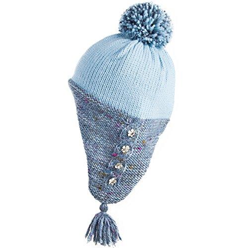 Siggi Winter Wool Peruvian Hat Women Beanie Earflap Hats Snow - Import It  All b00bcd596c3