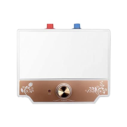 Calentador de agua eléctrico sin ventilación sobre el fregadero Tanque de 8 litros 1.5 kW para