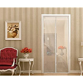 Magnetic Screen DoorSell4Style Mesh Curtain - Mosquito Net Fits Doors up to 39\