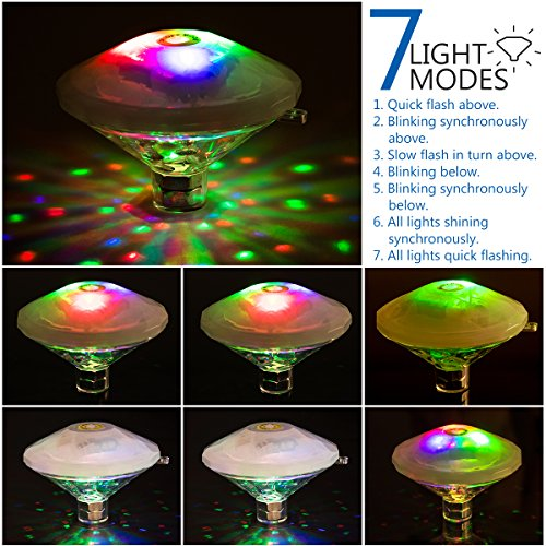Review YUNLIGHTS Bath Light Floating
