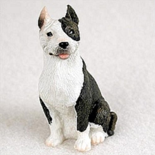 (Conversation Concepts Pit Bull Terrier Brindle Tiny One Figurine)