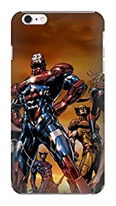 2014 New Cool Marvel Comics Avengers fashionable pictures Print Design for iphone 6 Plus TPU Hard Plastic Case