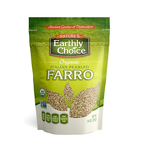 Nature's Earthly Choice Organic Farro, 14 Ounces (Pack of (Farro Soup)