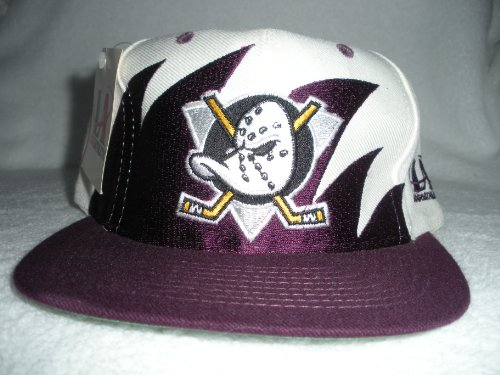 8bb30a5dc6d Anaheim Mighty Ducks Vintage Sharktooth Snapback Hat. by logo athletic