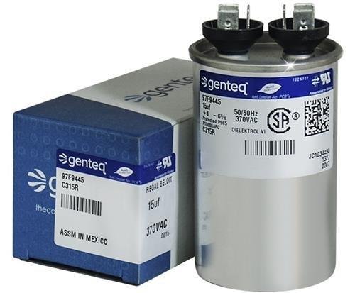 39H6301-15 uf MFD 370 Volt VAC - Lennox Round Run Capacitor Upgrade ()