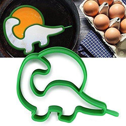 Pancake Molds, Witspace 1PC Omelette Maker Fried Egg Breakfast Dinosaur Shaper Pancake Ring Mould Dinosaur Omelet Egg Molds