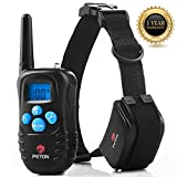 Training Dog Collar - Dog Training Collar - Rechargeable Vibration Beep Light and Electric Shock  Dog Collar With Remote - Water Resistant Behavior Corrective 330 Yards 1000 Foot for all Size Dogs
