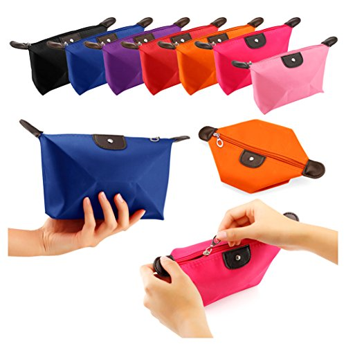 SHIPPING STORY-Cosmetic Beauty Makeup Bag Case Organizer Zipper Holder Handbag Travel Toiletry