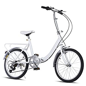 20 Inch Folding Bike 7 Speed Loop for Casual Riding Commuting School