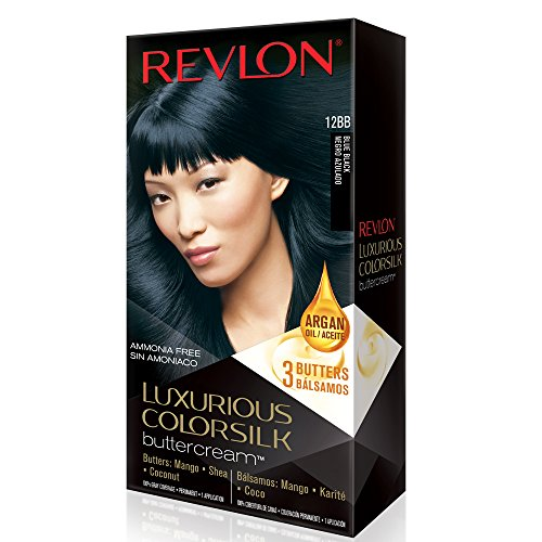 Revlon Luxurious Colorsilk Buttercream, Blue Black