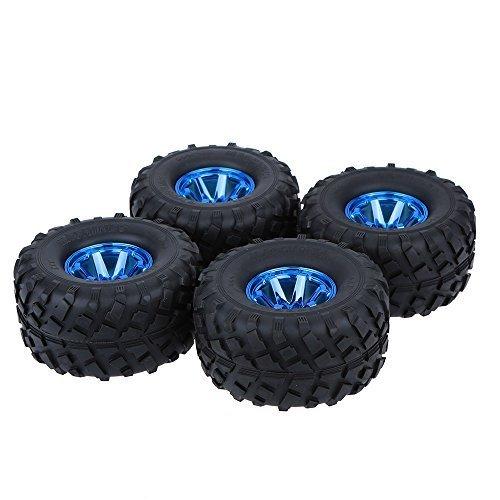 GoolRC 4Pcs/Set 1/10 Monster Truck Tire Tyres for Traxxas HSP Tamiya HPI Kyosho RC Model Car