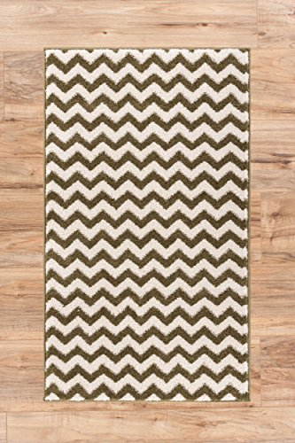 Moss Green Traditional Rug - 7