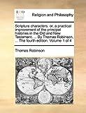 Scripture Characters, Thomas Robinson, 1140822128