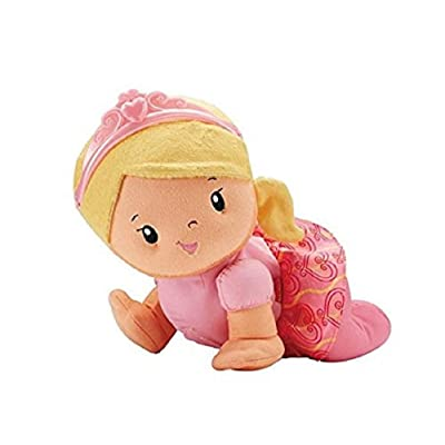 Fisher-price Cfn11 Touch N Crawl Princess Doll By Fisher-price: Toys & Games