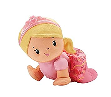 Fisher-Price Touch N Crawl - Muñeca de Princesa: Amazon.es ...