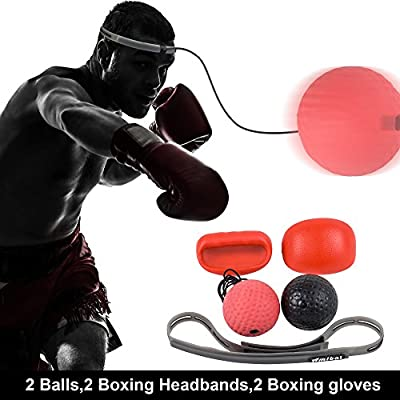 Fighting Ball Boxing Equipment With Head Band For Reflex Speed Training BoxinPLV