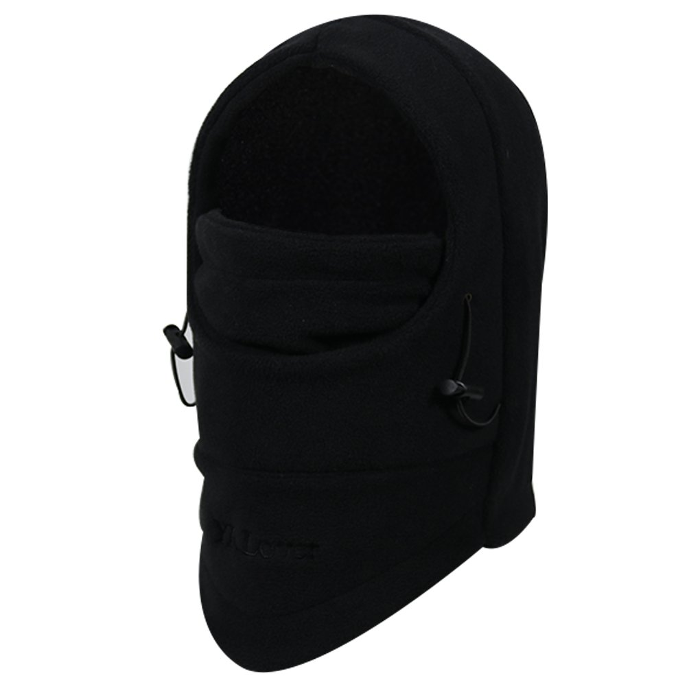 YR.Lover Children's Double-Deck Winter Windproof Cap Thick Warm Face Cover Adjustable Ski Hat