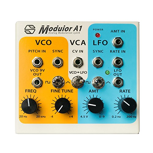 Modulor A1 : Semi-Modulor Analog Modulation Synthesizer