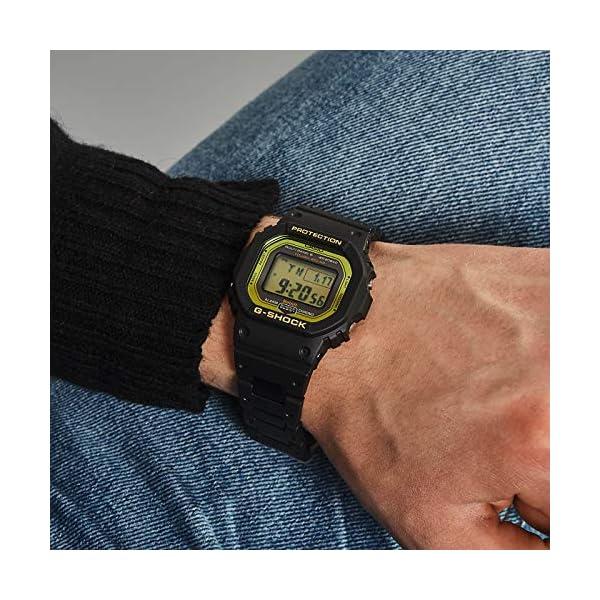 Casio Reloj Digital para Hombre de Cuarzo con Correa en Plástico GW-B5600BC-1ER 6