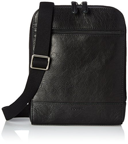 Fossil Rory Courier Bag, Black, One Size by Fossil