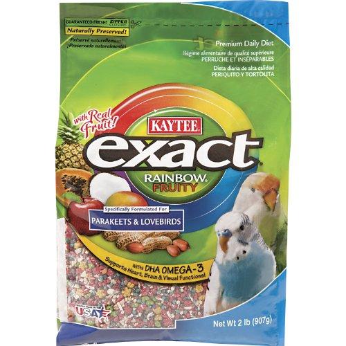 Kaytee Exact Parakeet Fruity Rainbow, 2-Pound, My Pet Supplies