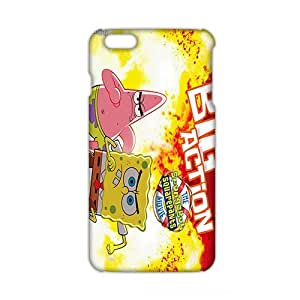WWAN 2015 New Arrival spongebob and patrick 3D Phone Case for iphone 6 plus