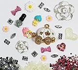 love kitty gems - DIY 3D Bling Cell Phone Case Making: Rhinestone Pumpkin Coach & White Rhinestone Rose Cabochons Decoration Kit/Set