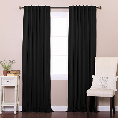 Best Home Fashion Color Block Curtains