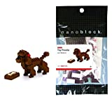 organ soap company - Nanoblock brown toy poodle micro-sized building block 120 pc age 8+ level 2 of 5